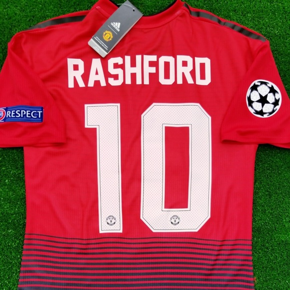 237128f73f4 2018 19 Manchester United soccer jersey Rashford